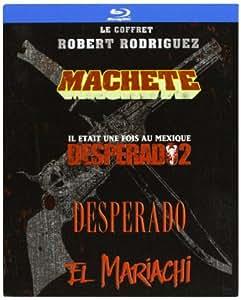 Robert Rodriguez Collection - 4-Disc Box Set ( Machete / Once Upon a Time in Mexico / Desperado / El Mariachi ) ( Machete / Legend of Mexico / Pistolero / El Mariachi ) (Blu-Ray)