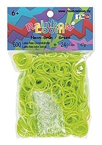 Rainbow Loom® Gummibänder Neon-Grün
