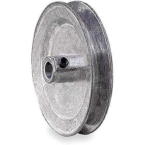 V-Belt Pulley, 7/8Fixed, 4.5OD, Zamak3 CA0450X087KW by Congress - 4.5 Pulley