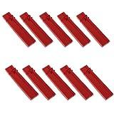 Schmuckschachteln für Halskette / Armband, Rot, 12 Stück