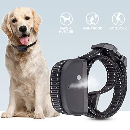 Kaiercat Erziehungshalsband [Aktualisierte Version], Antibell Halsband, Anti-Bell-Trainingshalsband, sicheres Citronella-Sprühhalsband für alle Hunde - wiederaufladbar & wasserdicht