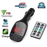 Bluetooth FM Transmitter Colorful(TM) Wireless MP3 Player Auto FM Transmitter LCD Auto Kit USB Ladegerät SD MMC
