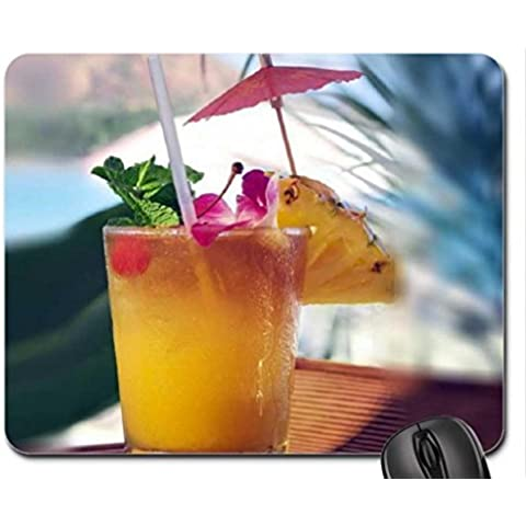 Summer Drink Mouse Pad, Mousepad