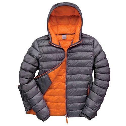 Result Urban Snowbid Herren Steppjacke / Winterjacke / Skijacke (Xlarge) (Grau/Orange)