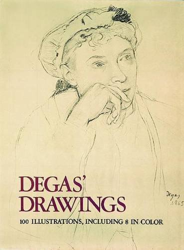 Degas' Drawings (Dover Fine Art, History of Art)
