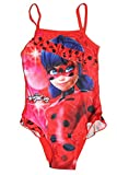 Miraculous Ladybug Mädchen Badeanzug (104, Rot)