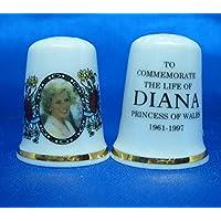 Cartouche Life porcelaine souvenir de la Princesse Diana du Pays de Galles