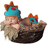 BabyMoon Baby Soft Crochet BB Shorts and Hat (Blue)