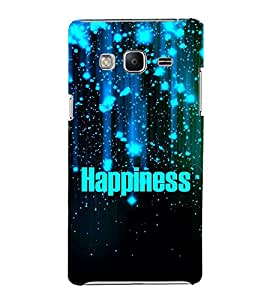 Happiness 3D Hard Polycarbonate Designer Back Case Cover for Samsung Galaxy Z3 Tizen :: Samsung Z3 Corporate Edition