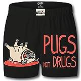 Gabi Black Boxers For Men (X-Large)