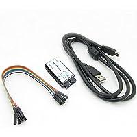 HiLetgo® USB Analizadores Lógicos con cable USB 24MHz 8CH 24MHz 8 canales UART IIC SPI Depuración para Arduino ARM FPGA M100 SCM