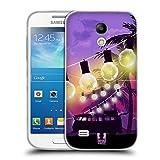 Head Case Designs Palmbaeume Sonnenuntergang Sammlung Soft Gel Hülle für Samsung Galaxy S4 Mini I9190
