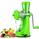 Slings Smart High Quality Fruit & Vegetable Juicer With Steel Handle Green