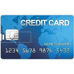 Printland PC160095 16 GB Credit card Shape Pendrive