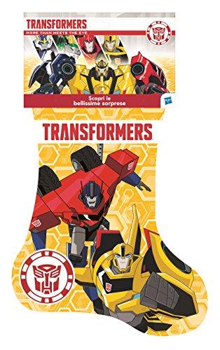 Hasbro C46614500 - Calza della Befana Transformers