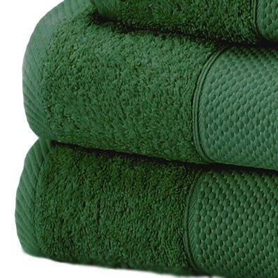 Linens Limited Telo da Bagno Extra Grande Jumbo 100% Cotone Turco, Verde Foresta, 100x180cm