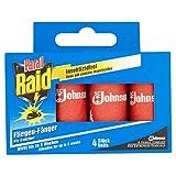 Raid Fliegen-Fänger/ hält bis zu 8 Wochen/ Insektizidfrei/ Klebefalle für Fliegen/ Inhalt 4 Stück