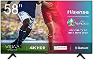 Hisense 58AE7000F - Smart TV Resolución 4K, UHD TV 2020, con Alexa integrada, Precision Colour, escalado UHD c