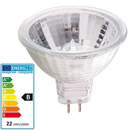 Halogenlampe MR16 20 Watt GU5.3 Leuchte Spot Strahler 20W Reflektorlampe Birne - Mr16 20w Flood