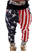 Guandiif Kids Boys Trousers Stars and Stripes Casual Pants 3-4 Years