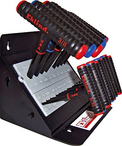 Eklind 60625 Power Hex Set 24 Piece with Stands 6