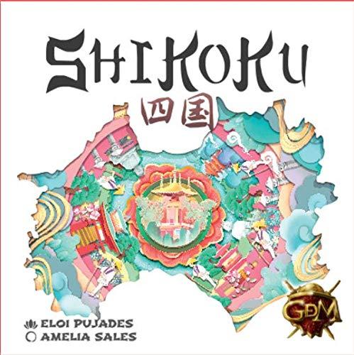 GM Games- Shikoku Juego de Cartas con Tablero