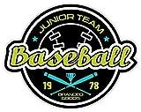 SkyBug Baseball Junior Team Bumper Sticker Vinyl Art Decal for Car Truck Van Wall Window (24 X 20 cm)