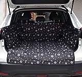 WZLDP Tappetino per auto per animali domestici | Cuscino per cani Cuscino per sedile posteriore Cuscino per sedile posteriore | Cuscino per seggiolino auto | Tappetino antiscivolo per auto | Tronco di