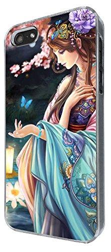 372 - Japanese Cartoon Art manga girl Anime Design iphone 5 5S Coque Fashion Trend Case Coque Protection Cover plastique et métal