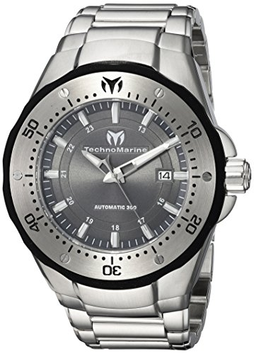 Technomarine Men's TM-215094 Manta Automatic Charcoal Dial Watch