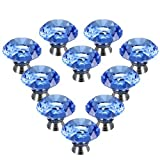 Best Waterwood Cabinet Knobs And Handles - Water & Wood 10PCS 40mm Crystal Glass Diamond Review