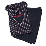 Ceceba Dunkelblauer kurzer Schlafanzug großen Größen bis 10XL, Größe:8XL