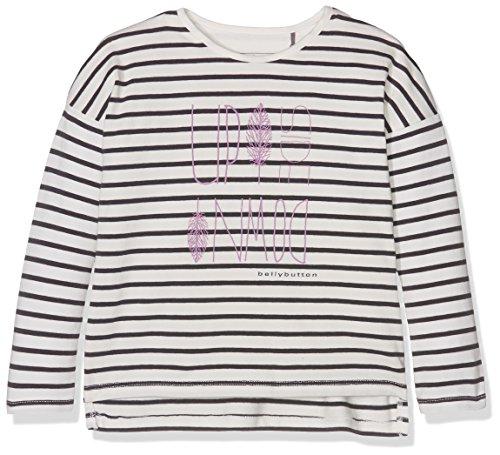 Bellybutton Kids Baby-Mädchen Langarmshirt T-Shirt 1/1 Arm Mehrfarbig (Y/D Stripe 0001), 92