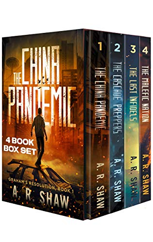 Graham\'s Resolution Series Boxset: Books 1-4 An Unputdownable Post-Apocalyptic Medical Techno Thriller Series (English Edition)