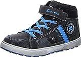 Sneakers 55.461 Kinderschuh Jungen Sneaker Winterboots Warmfutter Klettverschluss Farbe Grey/Black/Blue