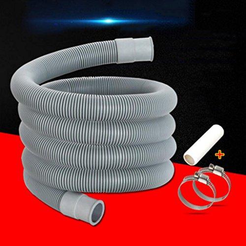 Tuyau MXJ61 vidange de la machine à laver générale d'extension de l'égouttoir Allonger sortie (taille : 200 cm)