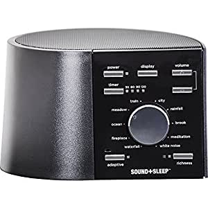 Ecotones Sound + Sleep Machine, Model ASM1002 by Adaptive Sound Technologies (English Manual)
