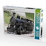 Lok Nr. 4 der Furka Bergstrecke 1000 Teile Puzzle quer (CALVENDO Mobilitaet)