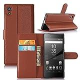 Sony Xperia Z6/XA1 Case, Altercase Card Holder Wallet Flip
