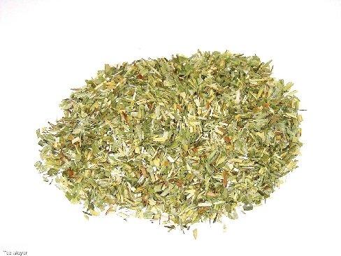 Grüner Haferstroh geschnitten 1 kg Vorratspack offen Tee-Meyer - Grün Lotionen