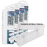 ANSMANN 5 x Caja para 8 pilas AA/AAA Micro batería y SD-tarjetas