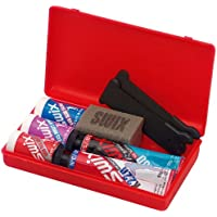 Swix Nordic Ski Wax Pack with Kick Wax and Klister-Pack of 7, 12 x 12-Inch