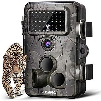 92a9f340a1f4e Gosira Wildlife Trail Camera 12MP 1080P 0.4s Trigger 940nm Updated ...