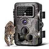 Gosira Hunting Trail Camera 12MP HD 1080P 0.4s Trigger 940nm Updated IR LED