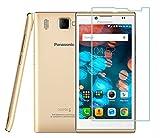 Panasonic P66 Mega Tempered Glass, 9H Hardness Ultra Clear, Anti-Scratch, Bubble Free, Anti-Fingerprints & Oil Stains Coating (For Panasonic P66 Mega)