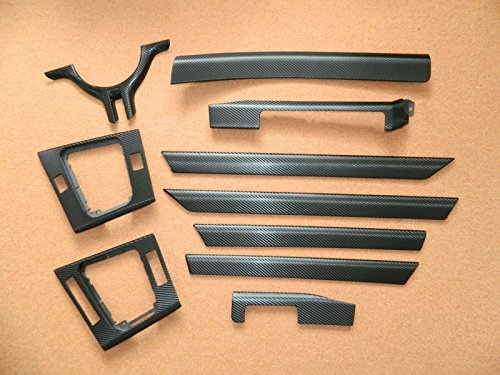 Preisvergleich Produktbild Dekorleisten Interieurleisten Carbon Hochglanz Folien passend für E46