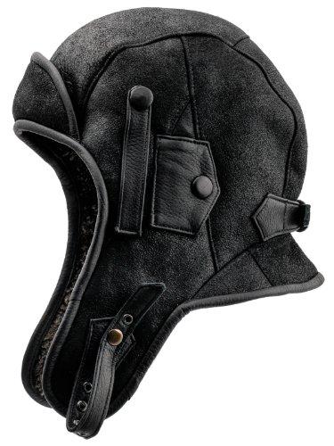 Sterkowski -  Cappello aviatore  - Uomo Coal 54 cm = S