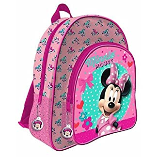 Minnie Mochila Bolsillo 3D Disney Adaptable 41cm
