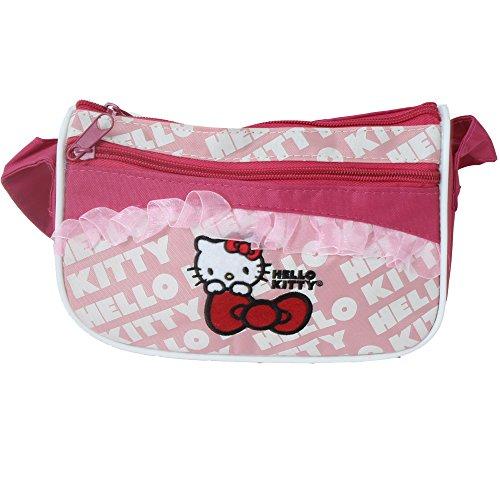 TE-Trend 29124 Mädchen Tasche, M (Handtasche Kitty Hello)