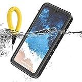 Scheam Coque Étanche iPhone XR, Ultra Mince IP68 Certifié Imperméable Étui...